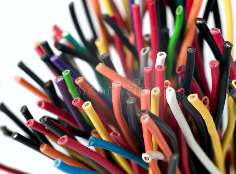 电多种电汇 库存图片
