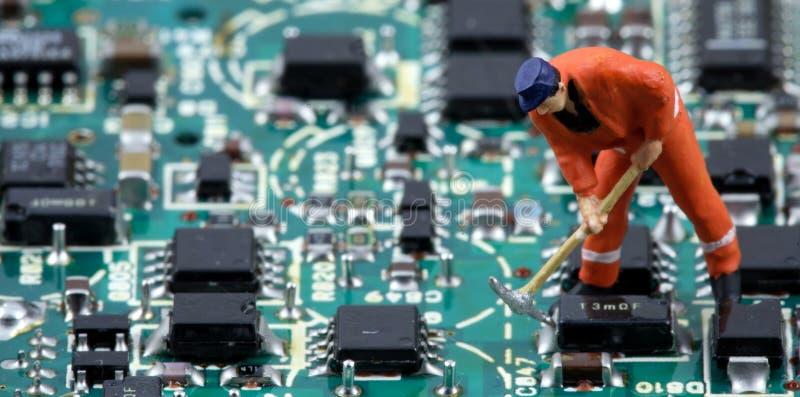 电子世界3 免版税库存照片