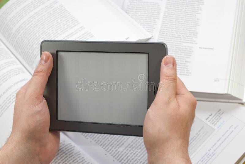 电子书读者 免版税库存图片