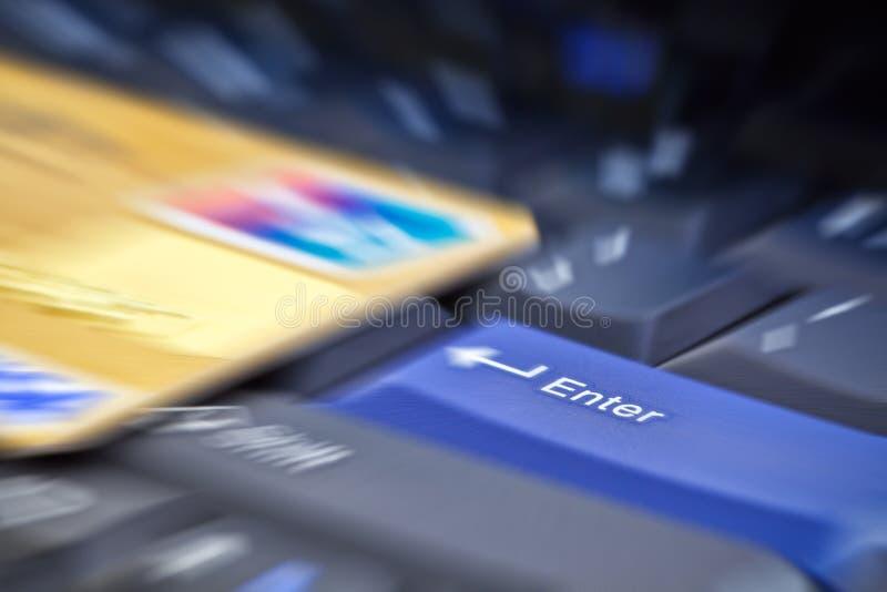 电子付款 免版税图库摄影