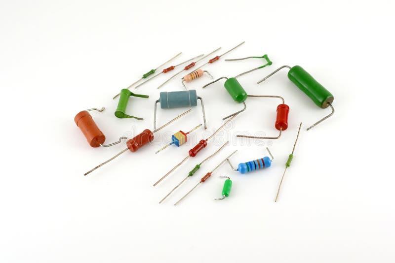 电子元件-电阻器 图库摄影