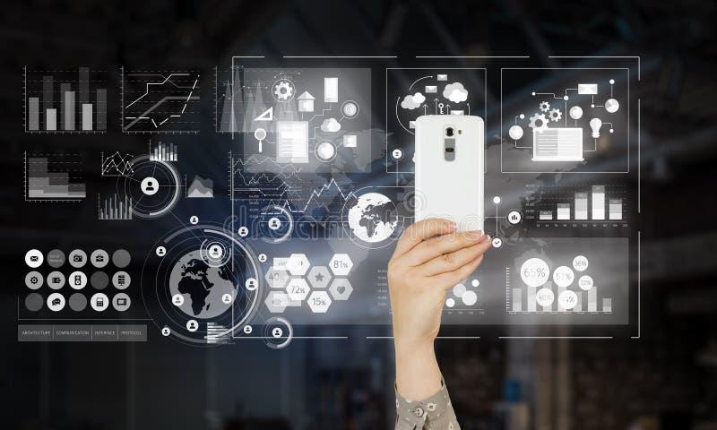 电子商务和商务的概念 库存照片