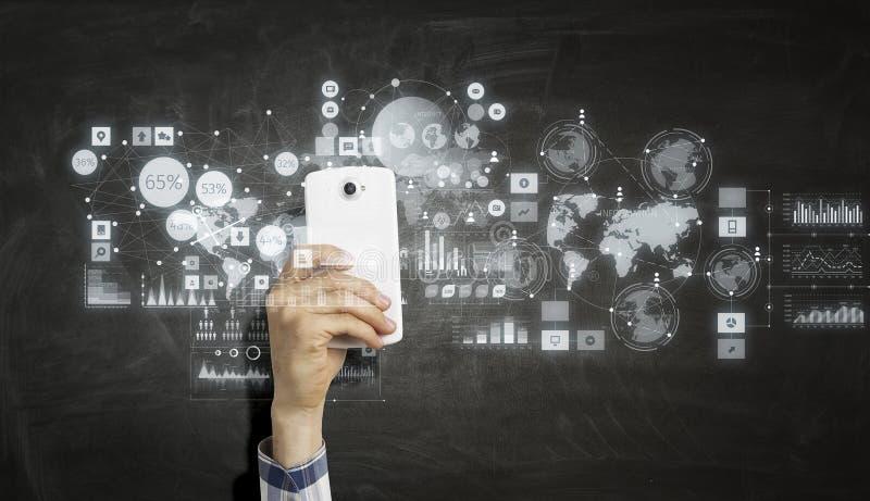 电子商务和商务的概念 库存图片