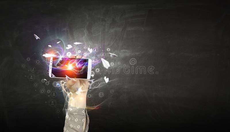 电子商务和商务的概念 免版税图库摄影