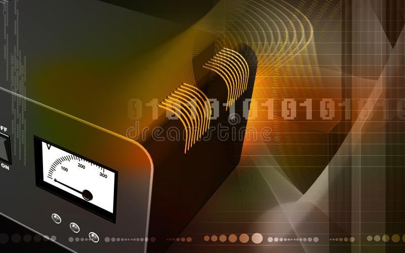 电子安定器 库存例证
