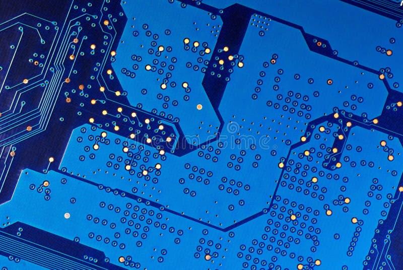电子微型电路 库存照片