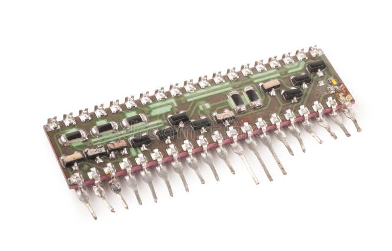 电子微型装配 库存照片