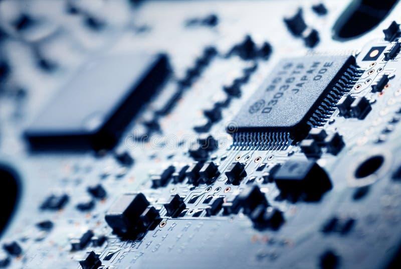 电子技术 库存图片