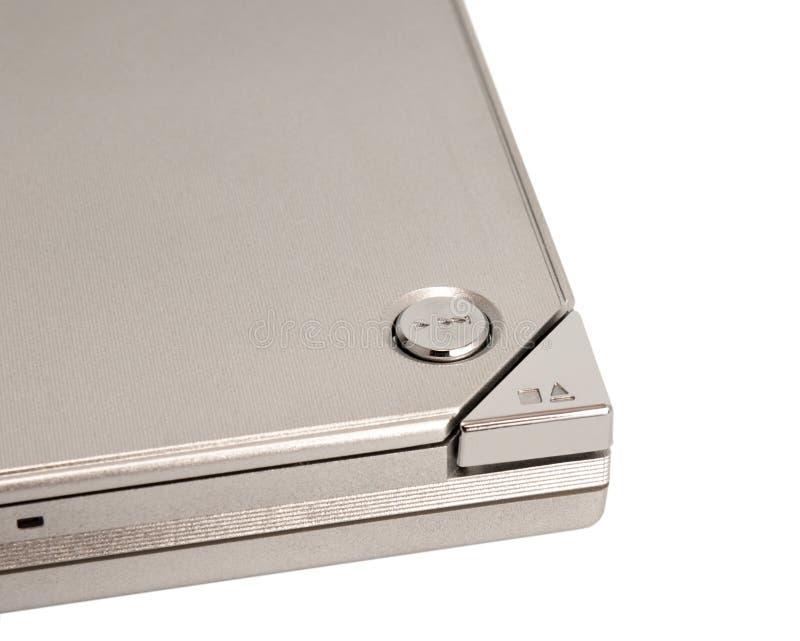 电子收藏-抛出按钮 免版税库存照片