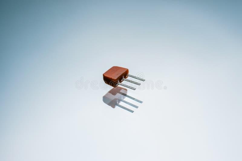 电子晶体管输出电路控制 免版税图库摄影
