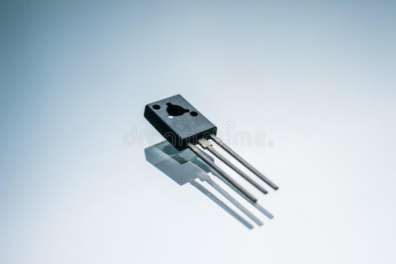 电子晶体管输出电路控制 库存图片