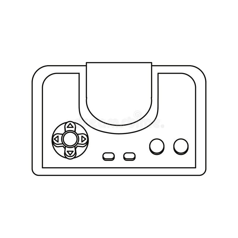 电子游戏设计 皇族释放例证