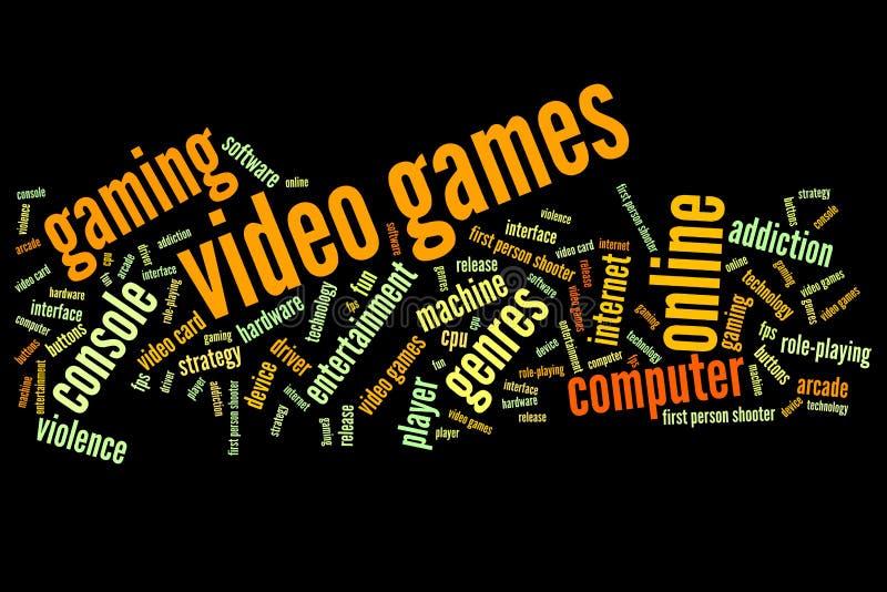电子游戏 皇族释放例证