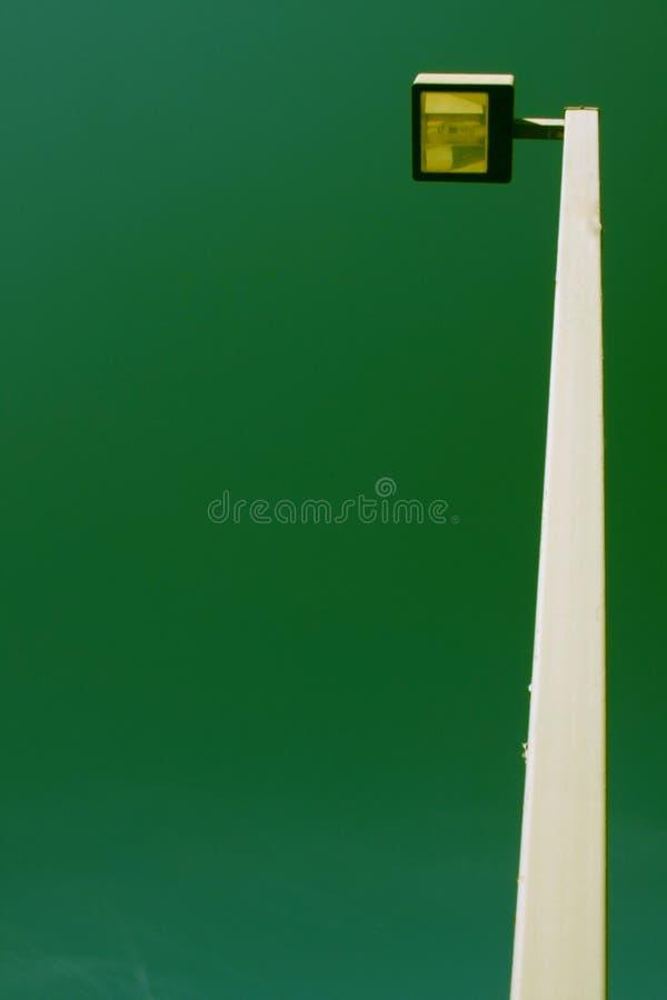 电子灯柱 免版税图库摄影
