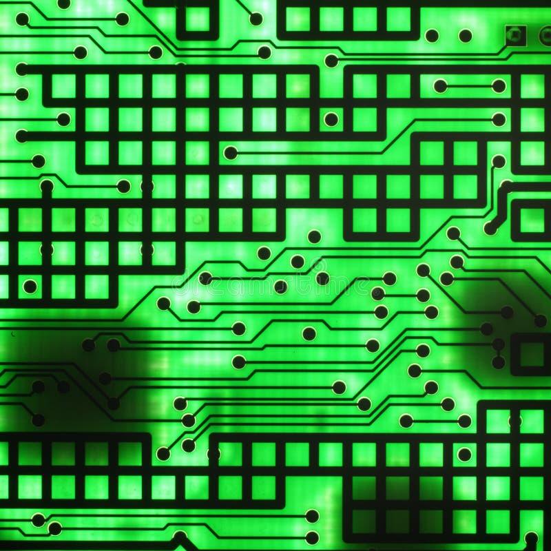 电子的导体半 免版税库存照片