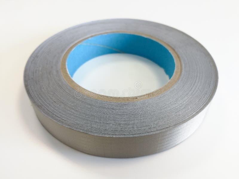 电子的电磁兼容性的导电性纺织品磁带 免版税图库摄影