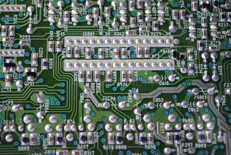 电子的电路 库存照片