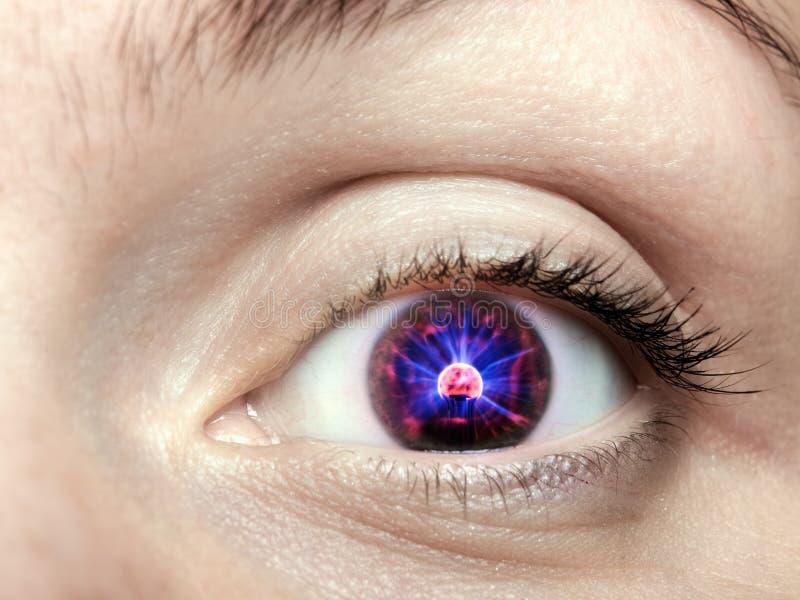 电子眼睛 免版税图库摄影