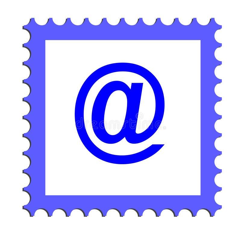 电子邮件图标(向量) 皇族释放例证