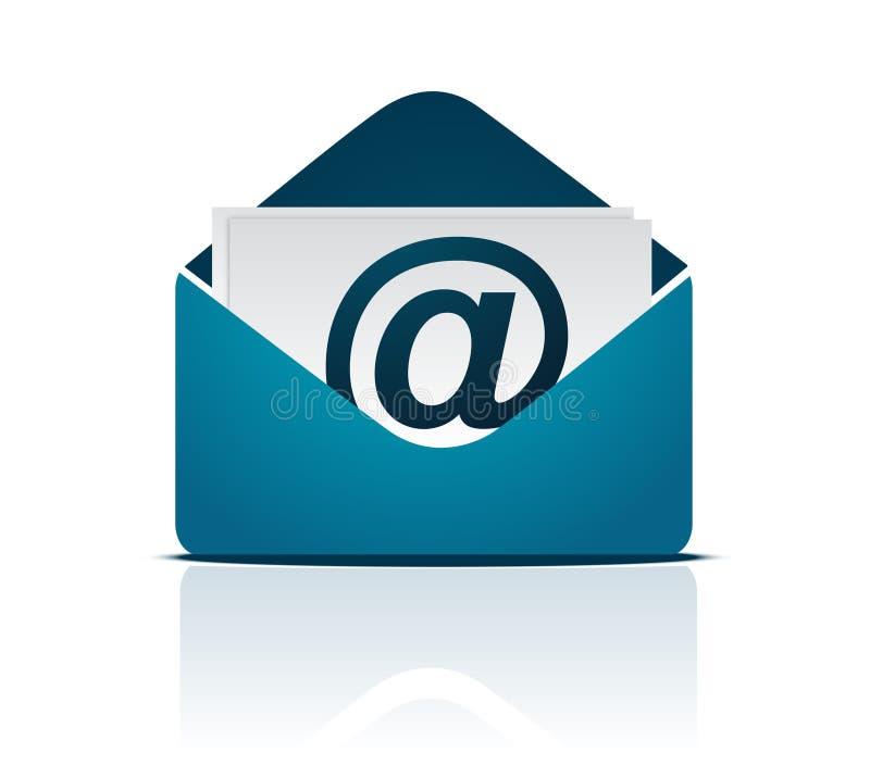 电子邮件符号向量 向量例证