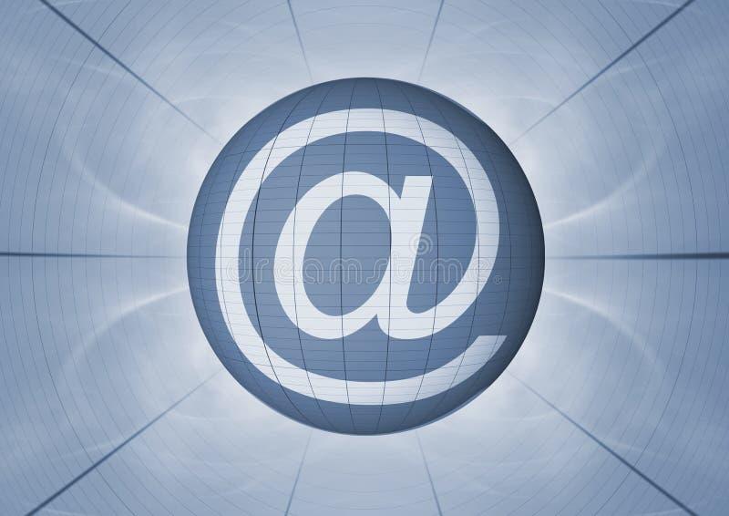 电子邮件符号 向量例证