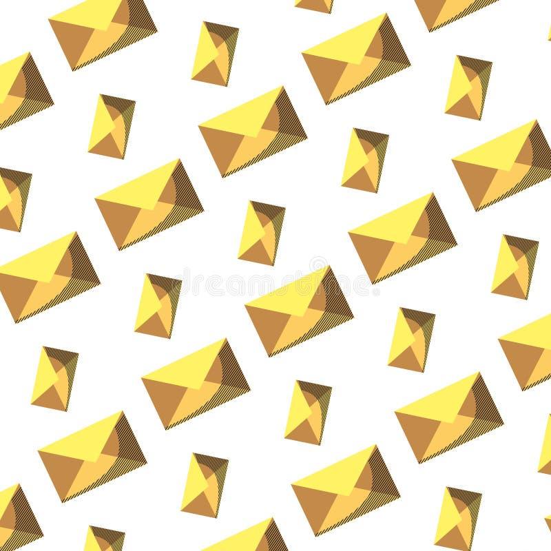 电子邮件通信消息技术背景 库存例证