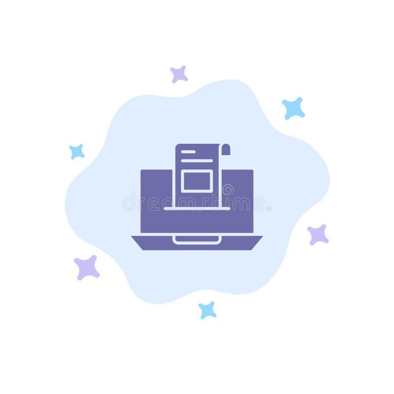 电子邮件,通信,电子邮件,信封,信件,邮件,在抽象云彩背景的消息蓝色象 库存例证