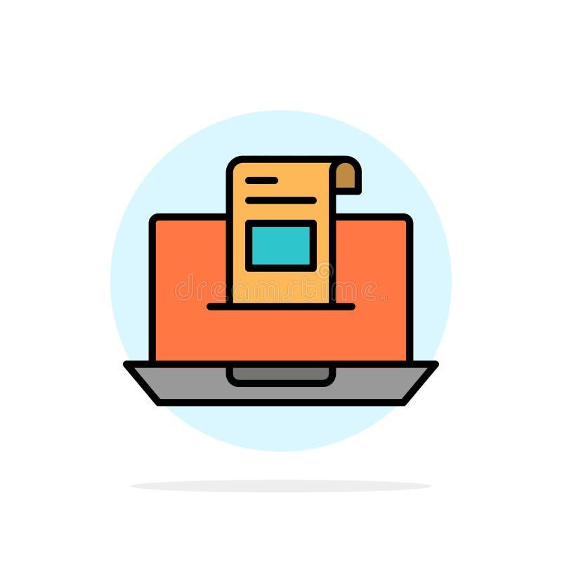 电子邮件,通信,电子邮件,信封,信件,邮件,消息摘要圈子背景平的颜色象 向量例证