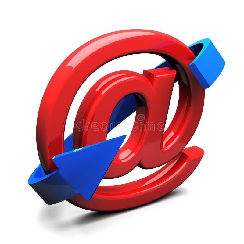 电子邮件 库存例证