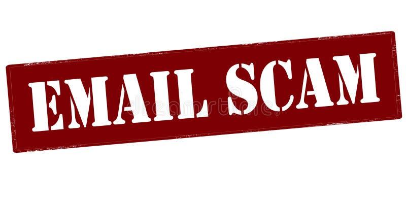 电子邮件诈欺 向量例证