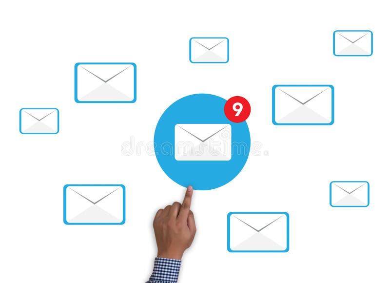 电子邮件象概念 免版税图库摄影
