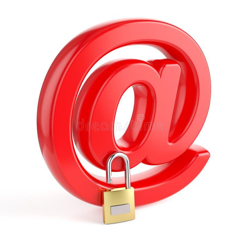 电子邮件 皇族释放例证