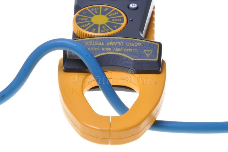 电子钳位米测试人员 图库摄影