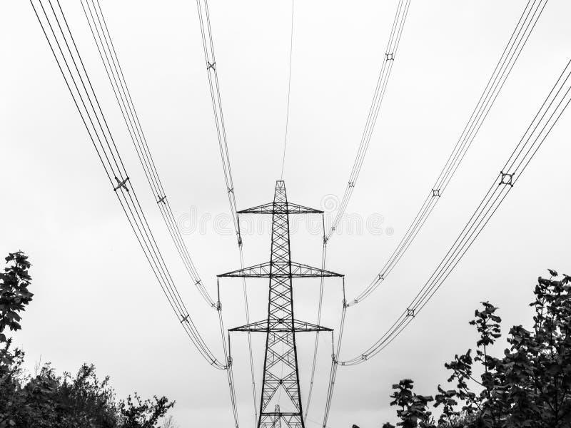 电定向塔,Bolney,中萨塞克斯,英国 免版税库存照片