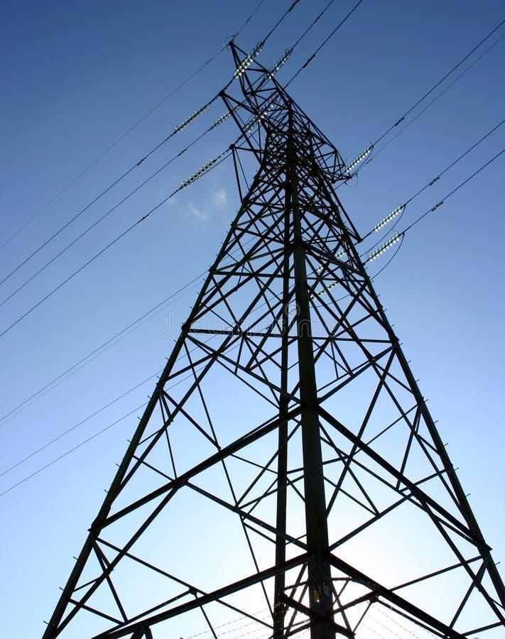 电定向塔 库存照片