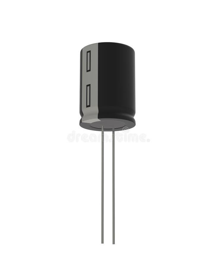 电容器 向量例证