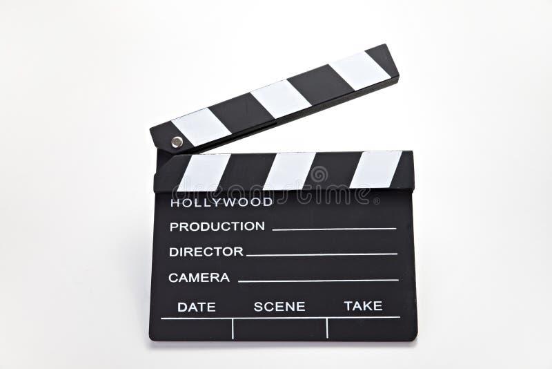 电影夹子 图库摄影