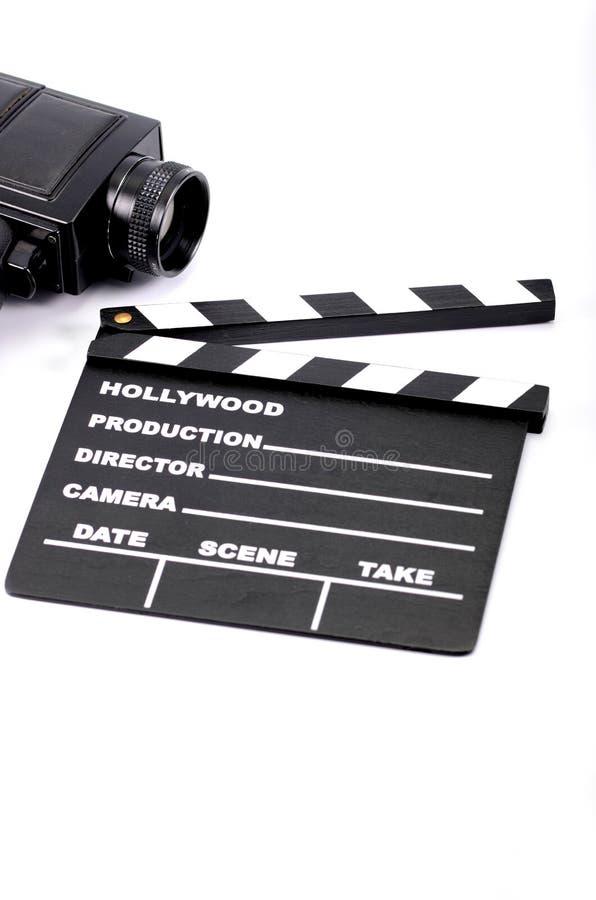 电影工业和影片生产概念 库存图片