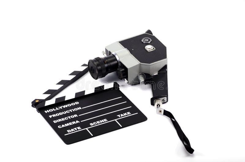 电影工业和影片生产概念 免版税图库摄影