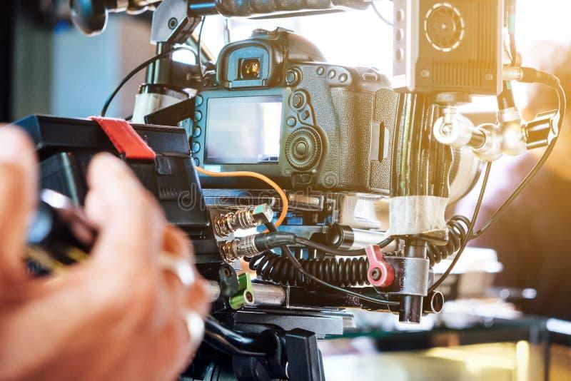 电影工业背景 免版税图库摄影
