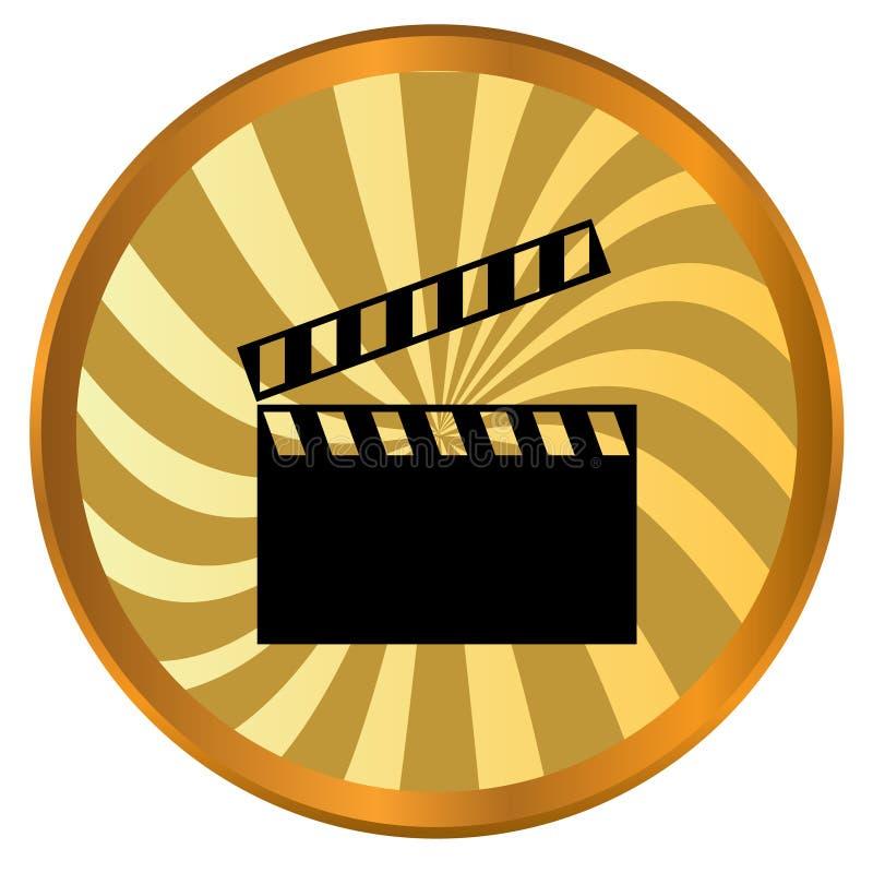 电影徽标 向量例证
