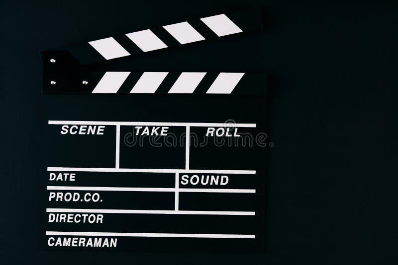 电影拍板 免版税库存照片