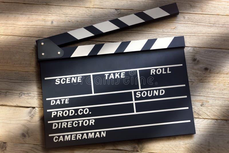 电影拍板 免版税库存图片