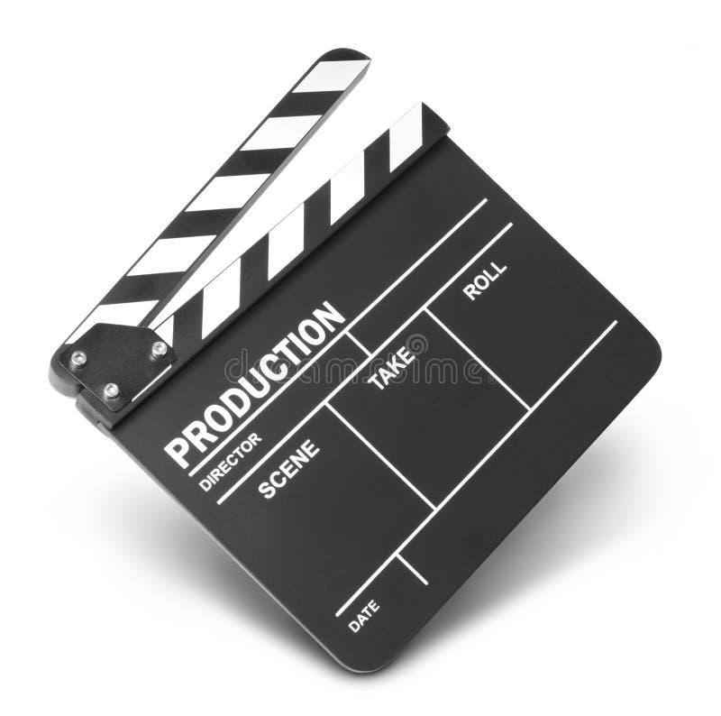 电影拍板 免版税图库摄影