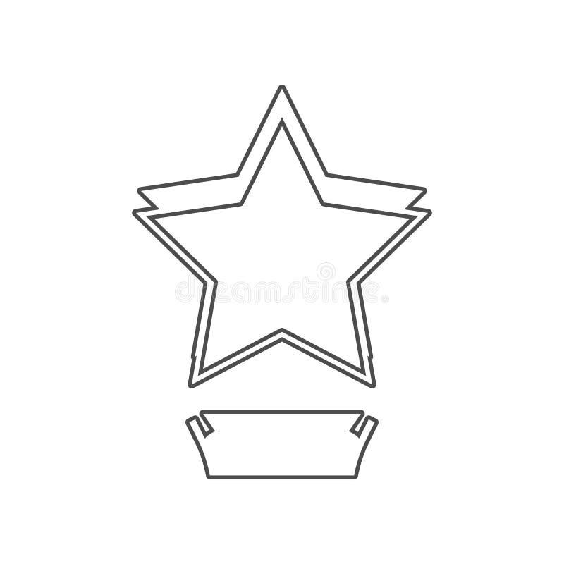 电影摄影术的星杯子象 设置戏院元素象 r 标志和标志汇集象为 向量例证