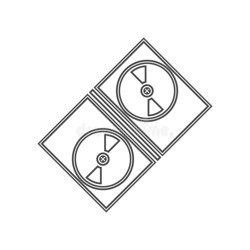 电影摄影术的磁带象 设置戏院元素象 r 标志和标志汇集象为 皇族释放例证