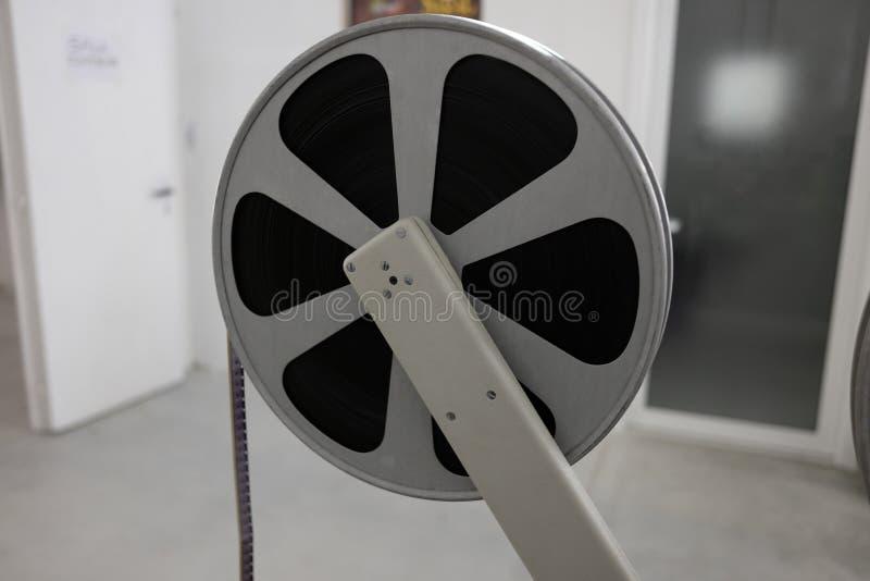 电影老放映机 库存图片