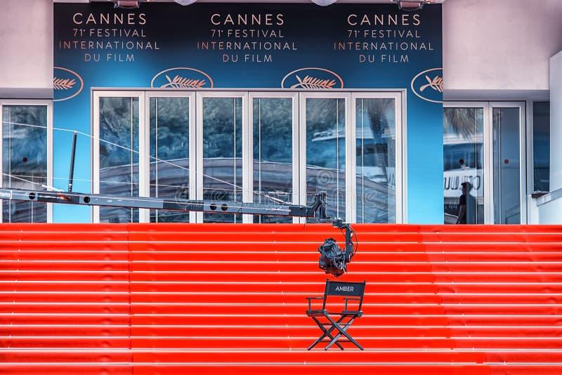 电影节在戛纳,法国 免版税库存照片