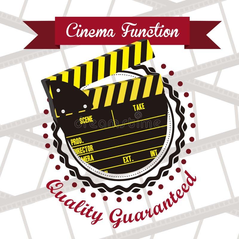 Download 电影象 向量例证. 插画 包括有 拍手, 摄影师, 对象, 要素, 戏院, 图标, clapperboard - 30331145