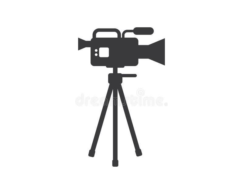 电影,胶片记录器产业影片传染媒介例证商标象  库存例证